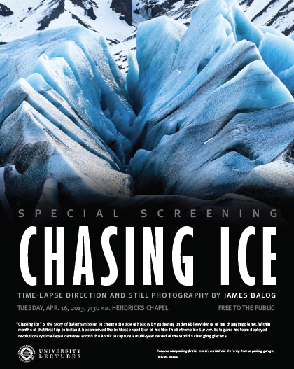 Chasing Ice affiche